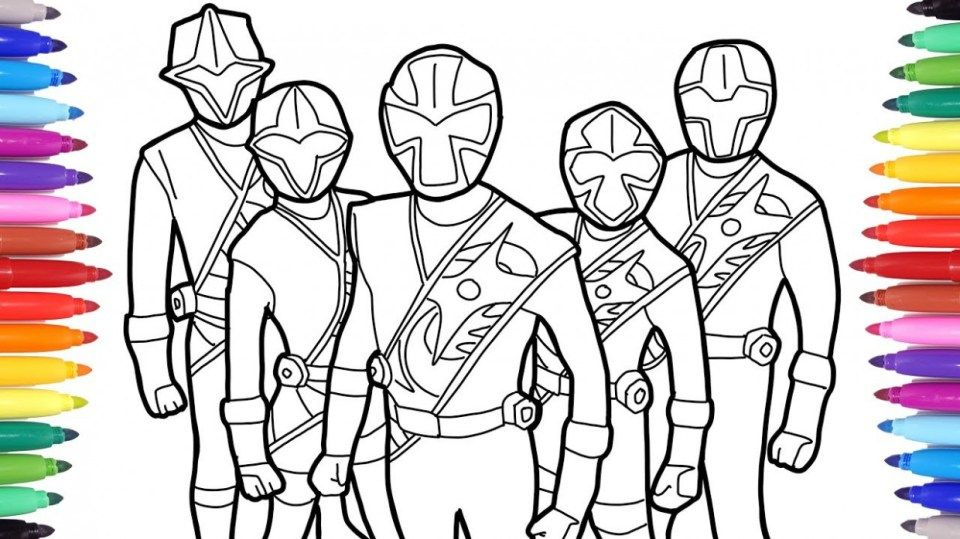 How To Get People To Like Power Rangers Coloring Pages