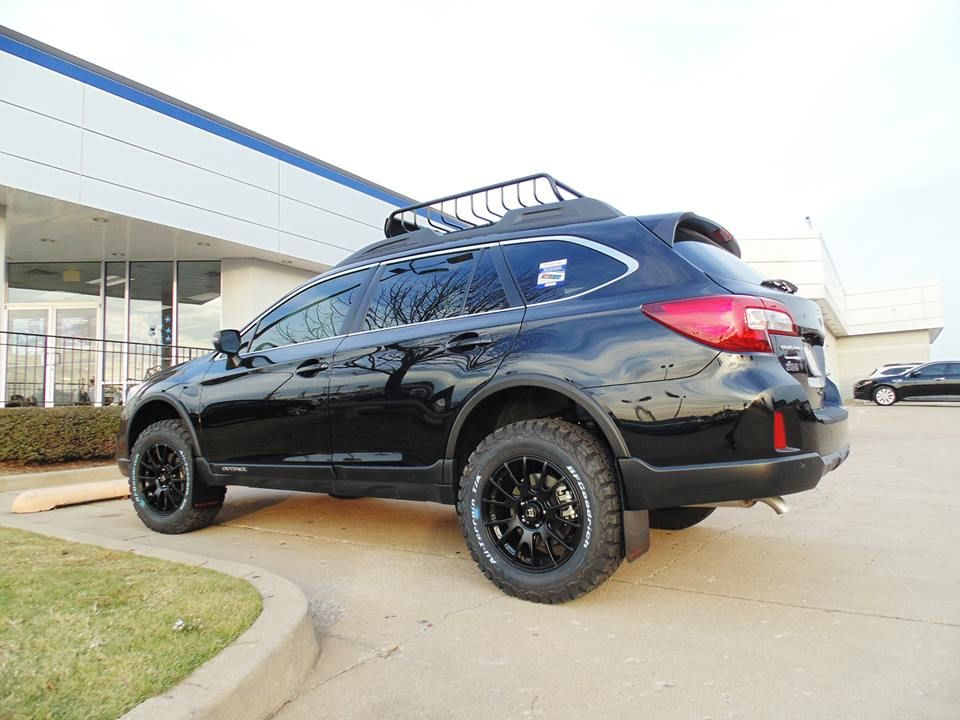 Lifted 2017 Subaru Outback With Offroad Package Ferguson Subaru