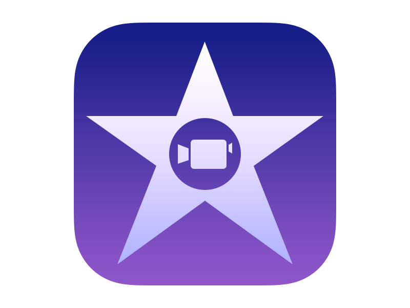 Apple Imovie For Ios App Icon 2013 Ios App Icon Mobile Icon Classroom Apps