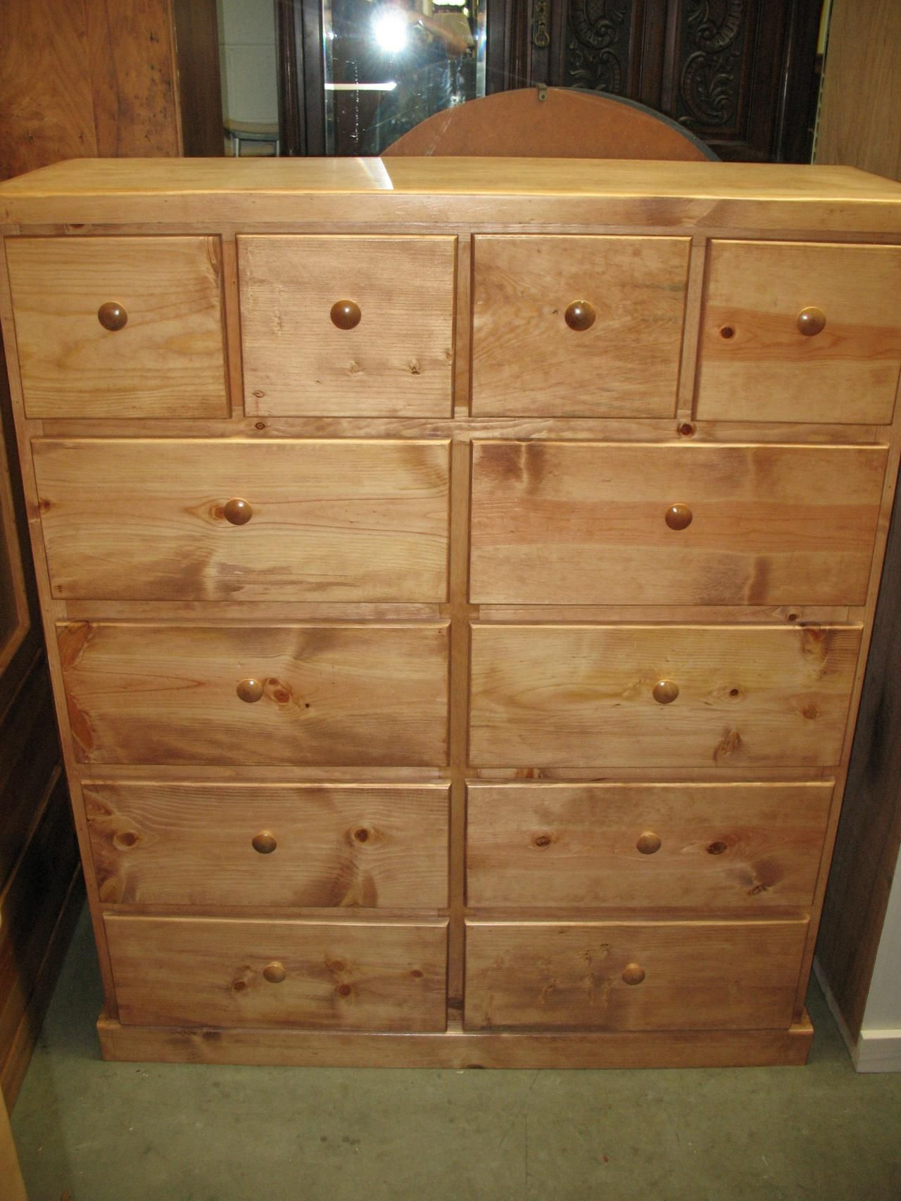 Design Affordable Dressers With 12 Drawer