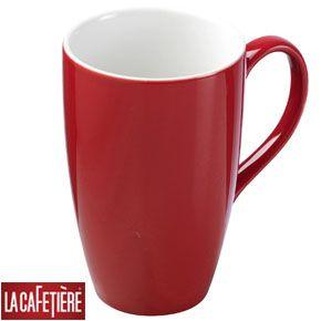 Red Coffee Mugs Sets Large Mug La Cafetiere Latte Online