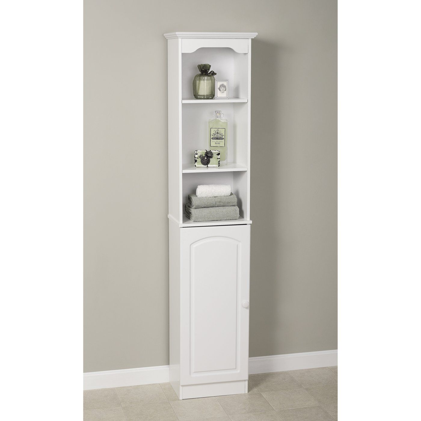 Zenith Products 9647W Hartford Linen Tower - Home Furniture Showroom ...