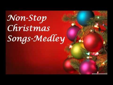 Non Stop Christmas Songs Medley Favorite Christmas Songs Best Christmas Songs Christmas Albums