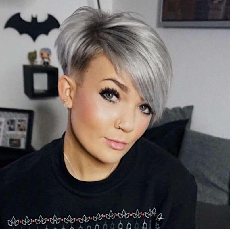 Short Hairstyle 2018 126 Funky Short Hair Short Hair Styles Short Hair Styles For Round Faces