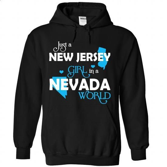 A NEW JERSEY-NEVADA girl Blue03 - #hoodie novios #sweatshirt design. SIMILAR ITEMS => https://www.sunfrog.com/States/A-NEW-JERSEY-2DNEVADA-girl-Blue03-Black-Hoodie.html?68278