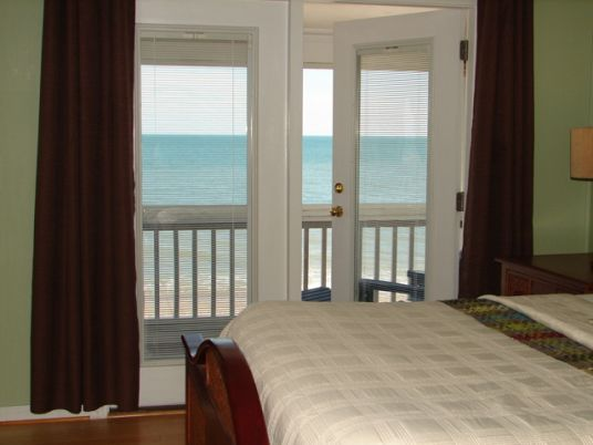 Edisto Realty - 142 Palmetto Blvd, Beach Front, view from my room