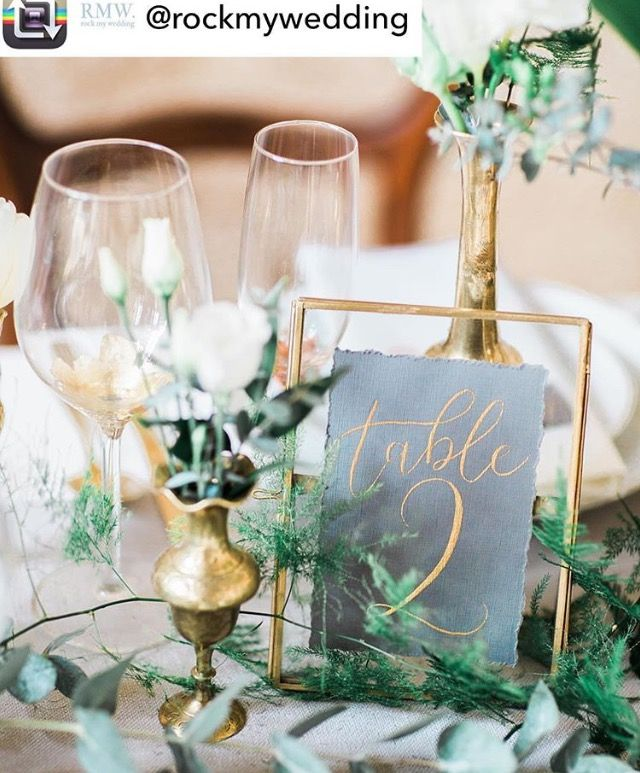 Table number glass frame | W E D D I N G | Pinterest | Table numbers ...