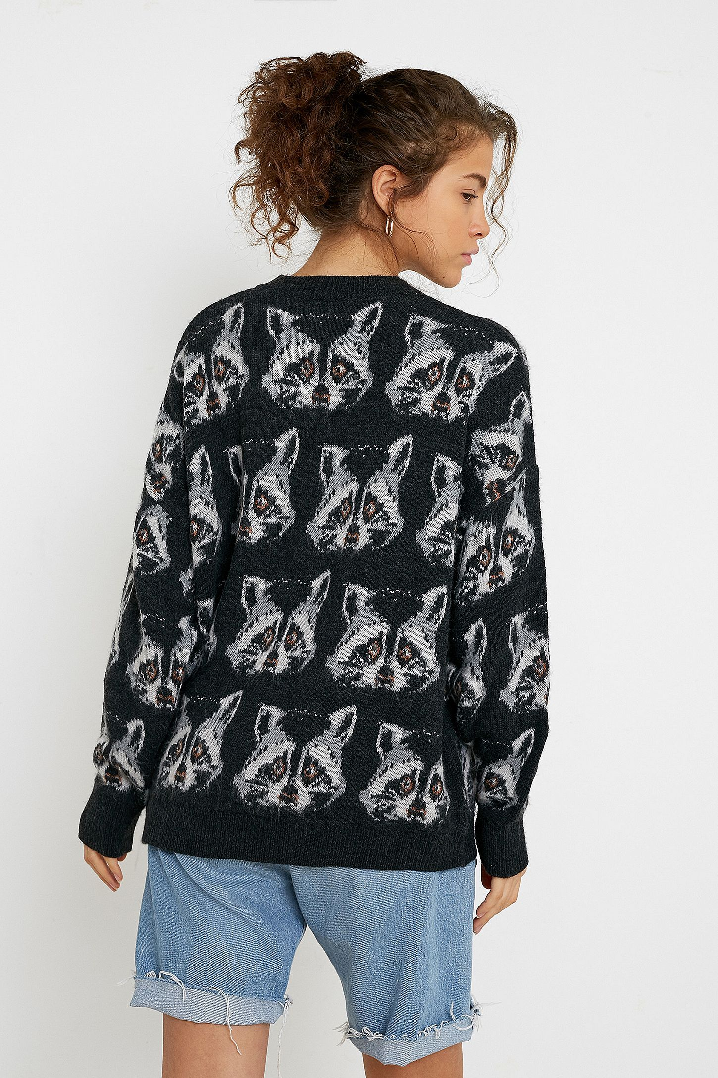 UO Raccoon Jumper   Clothes in 2019   Jumper, Urban