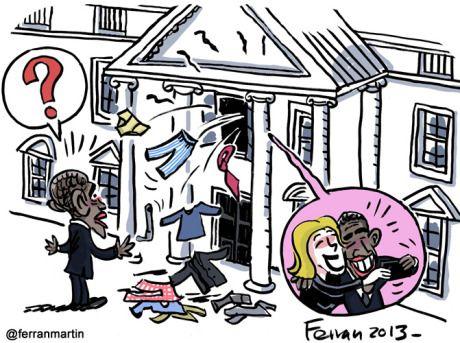 Celos en la Casa Blanca
