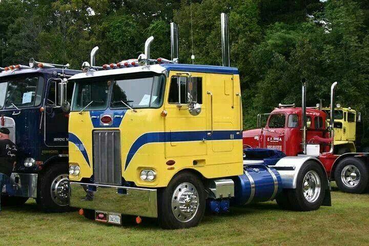 Peterbilt 352 | Heavy haulers | Trucks, Peterbilt trucks, Big trucks
