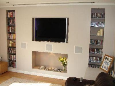 Tv False Wall Google Search Sitting Room Pinterest False - Tv false wall