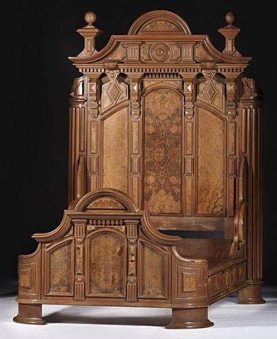 Furniture Suite Bedroom Victorian Renaissance Revival Victorian Medieval Italian