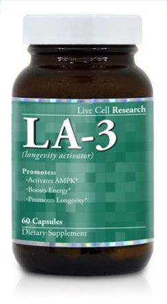 Live Cell Research Revolutionary LA-3 Supplement Recent ... Scientific studies reveal that AMPK activation in a body provides more energy, an active .... I read several negative reviews so please let me know something.