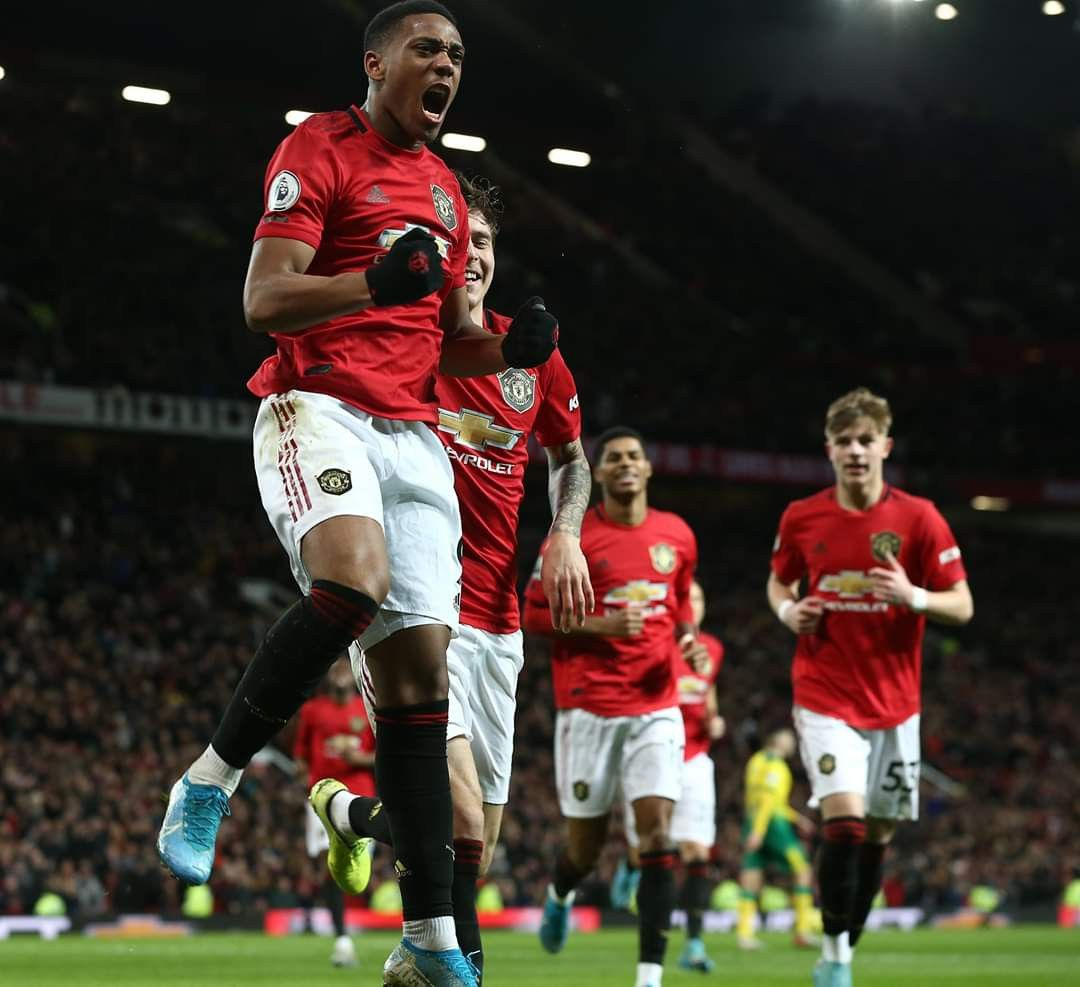 It S Our First Premier League Game At Old Trafford This Year In 2020 With Images Manchester United Players Man United Manchester