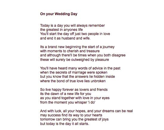 Readings For Weddings I Think This One Says The Same As Dr Suess Only It Is Wedding Readings Wedding Poems Dr Suess Poems