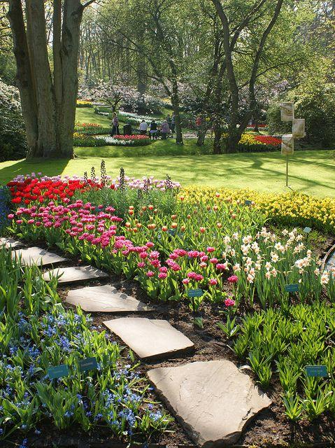 Keukenhof (83) Jardines, Jardín y Paisajes - paisajes jardines