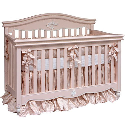 Cosette Gingham Crib Bedding By Art For, Pink Gingham Baby Bedding