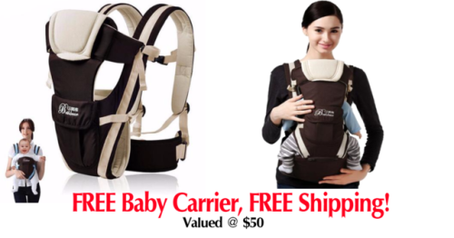 Enter to win free baby carrier a $50 value from Cantomart ...