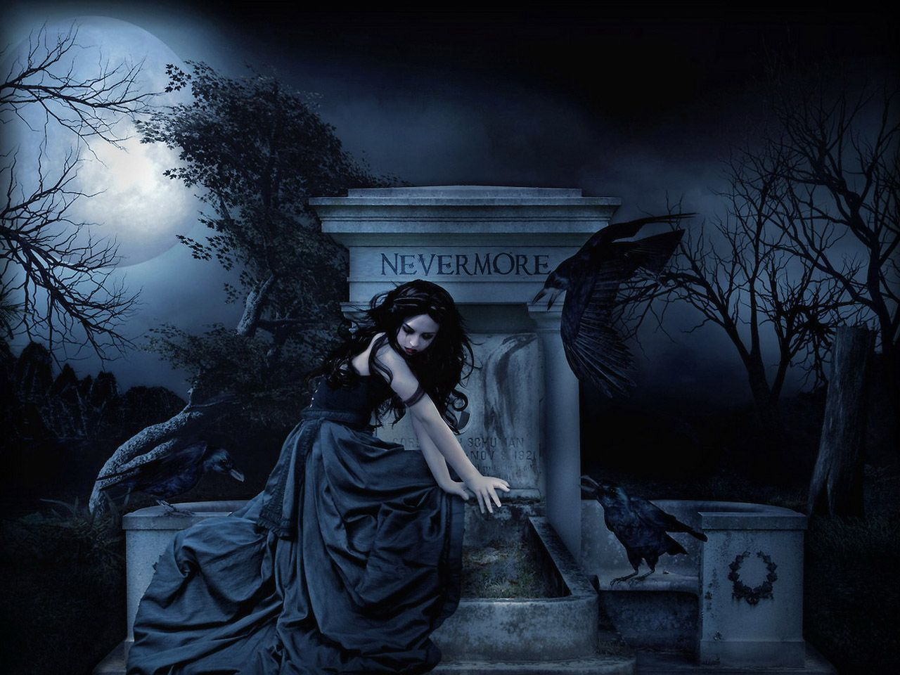 Alone Boy Scary Gothic Tomb Beautiful Beauty Clouds Dark