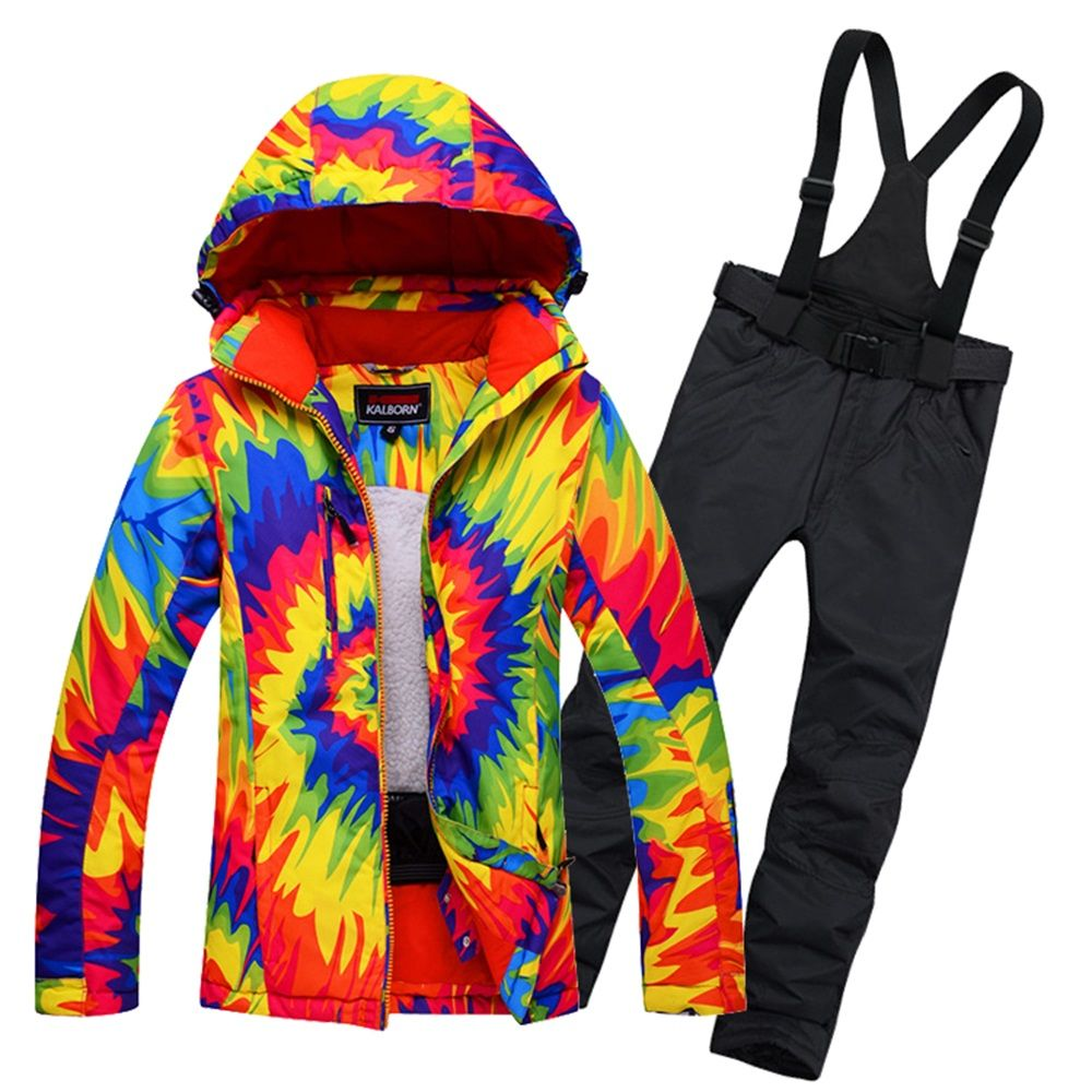 Womens Snowboard Snow Suit Ladies Ski Jacket and Trousers Waterproof  Breathale Thermal Windproof Female Skiing Clothing. Yesterday s price  US   399.00 ... 593658b7c