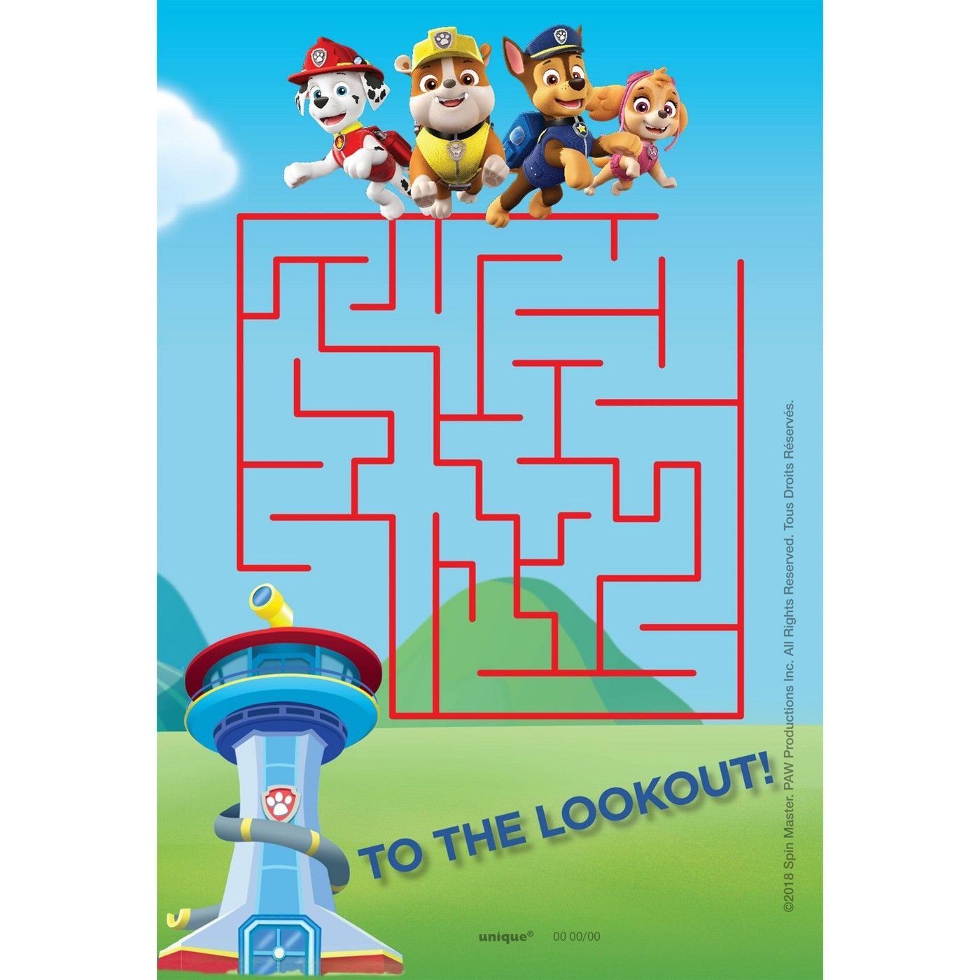 Paw Patrol Party Favor Kit For 8 In 2021 Paw Patrol Party Favors Paw Patrol Party Paw Patrol Stickers [ 1400 x 1400 Pixel ]