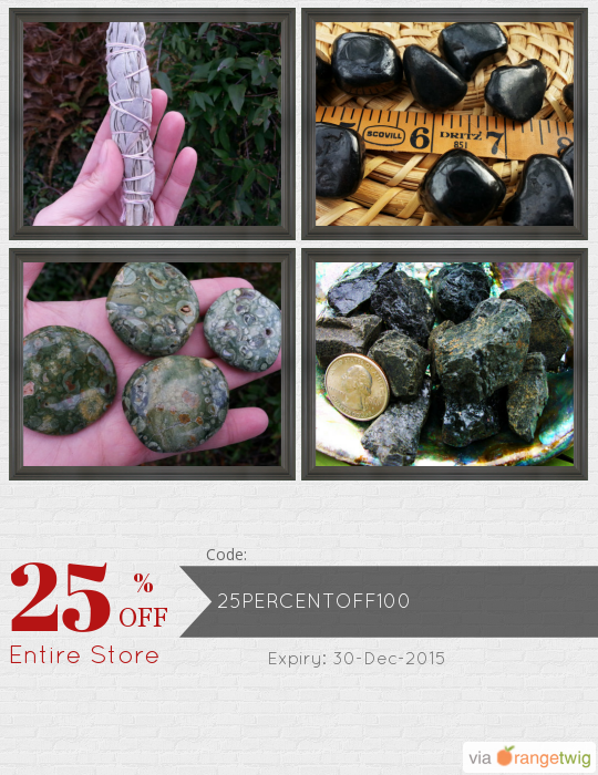 We are happy to announce 25% OFF a $100 purchase! Coupon Code: 25PERCENTOFF100 Min Purchase: 100.00 Expiry: 30-Dec-2015 Click here to view all products: Click here to avail coupon: https://orangetwig.com/shops/AAAPL7A/campaigns/AABsKju?cb=2015012&sn=Kiliamma&ch=pin&crid=AABsKkg