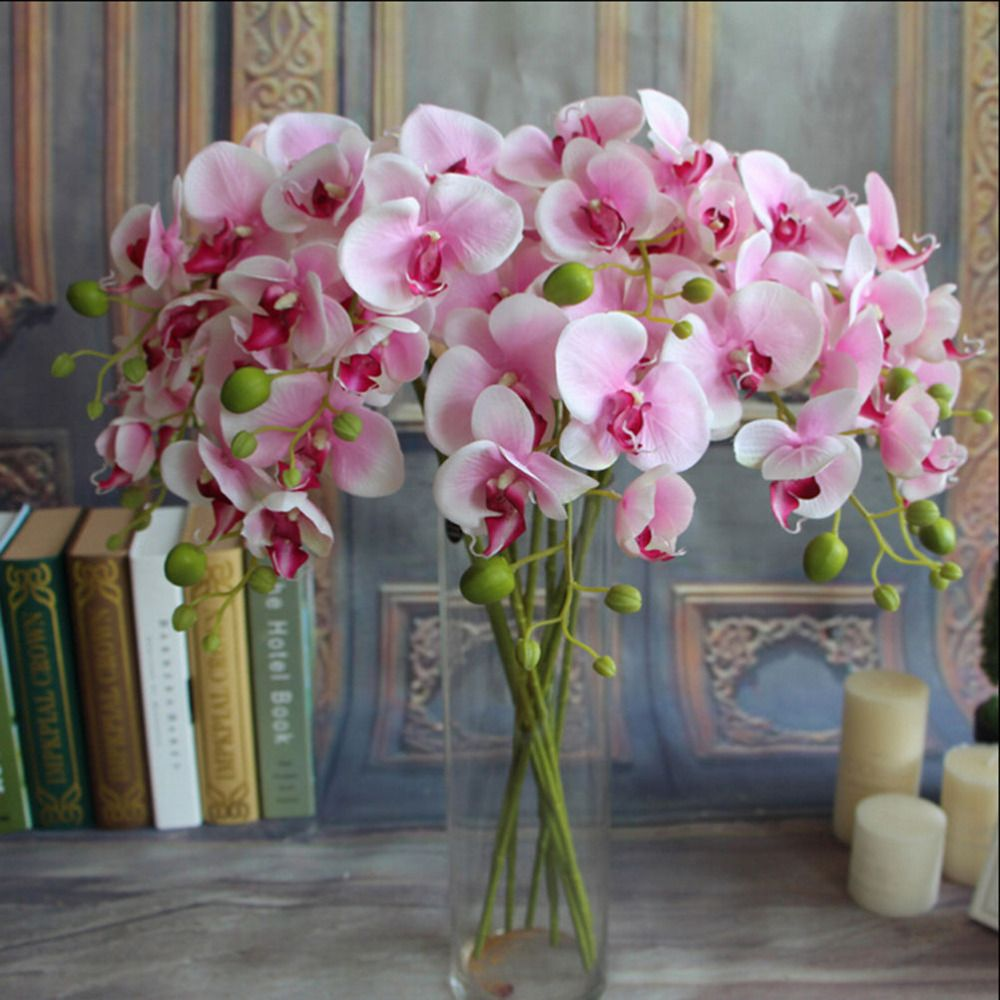 Decorate the house with artificial flowers for your home inspiration cheap artificial butterfly orchid buy quality butterfly orchid directly from china decoratives silk flower suppliers artificial butterfly orchids izmirmasajfo Choice Image