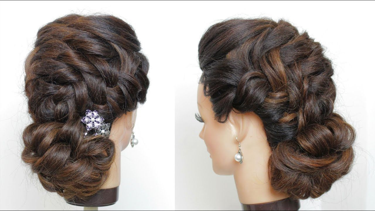 Braided Updo Tutorial Prom Hairstyles Youtube Hair Styles Braid Updo Tutorial Updo Tutorial