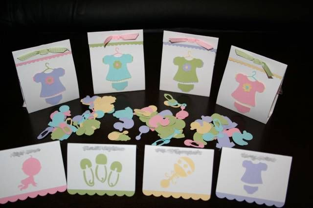 Cricut Baby Shower Samples by cloetzu - Cards and Paper Crafts at - baby shower samples