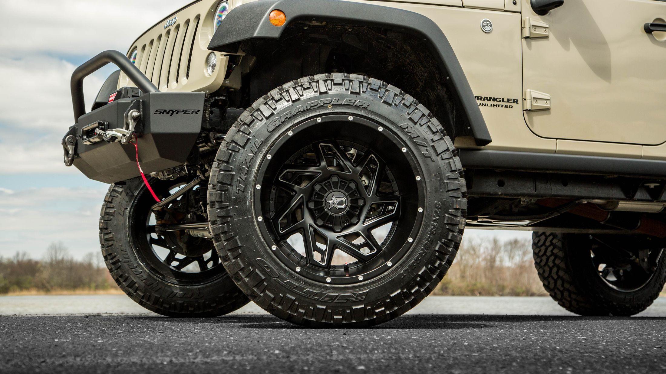 Modified Jeep Wrangler Best Off Road Stuff In One Smart Package