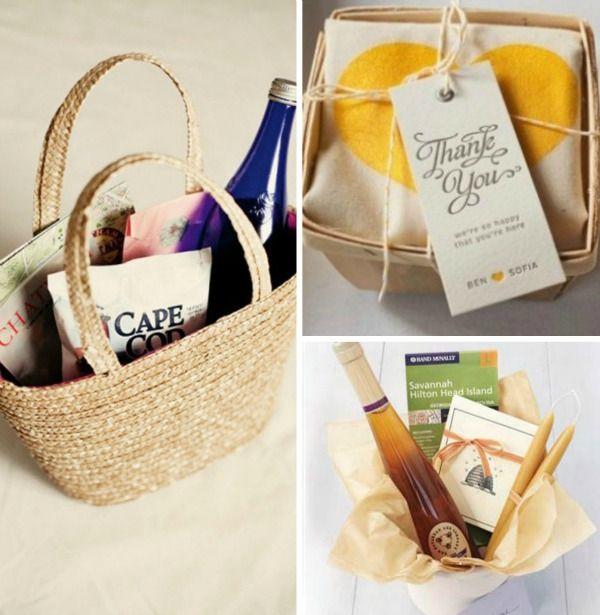 ... Bags, wedding ideas, guest bags, and local goodies (www.trueevent.com