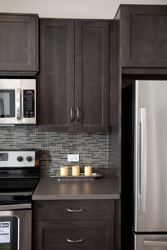 Beauty Of Mosaic Tile Backsplash For Your Kitchen Countertop - Backsplash for gray kitchen cabinets