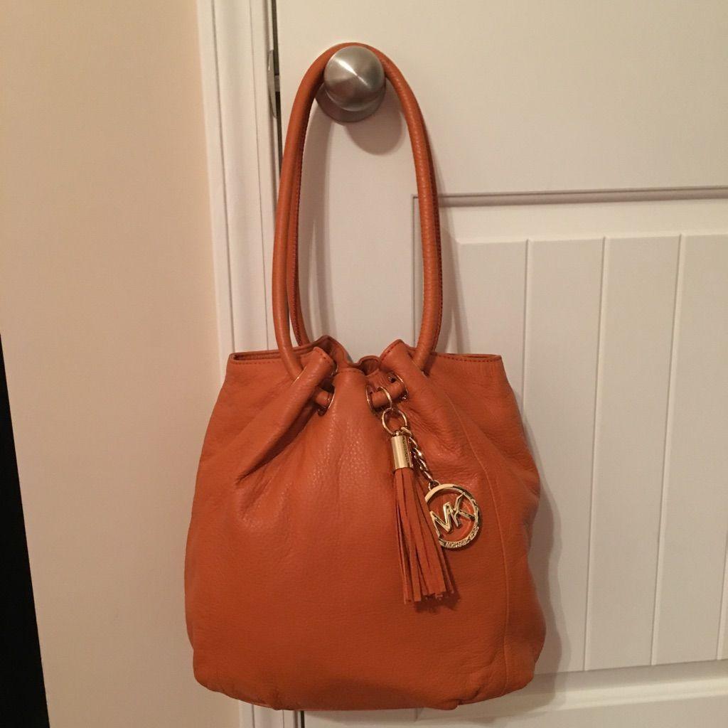 Burnt Orange Mk Handbag