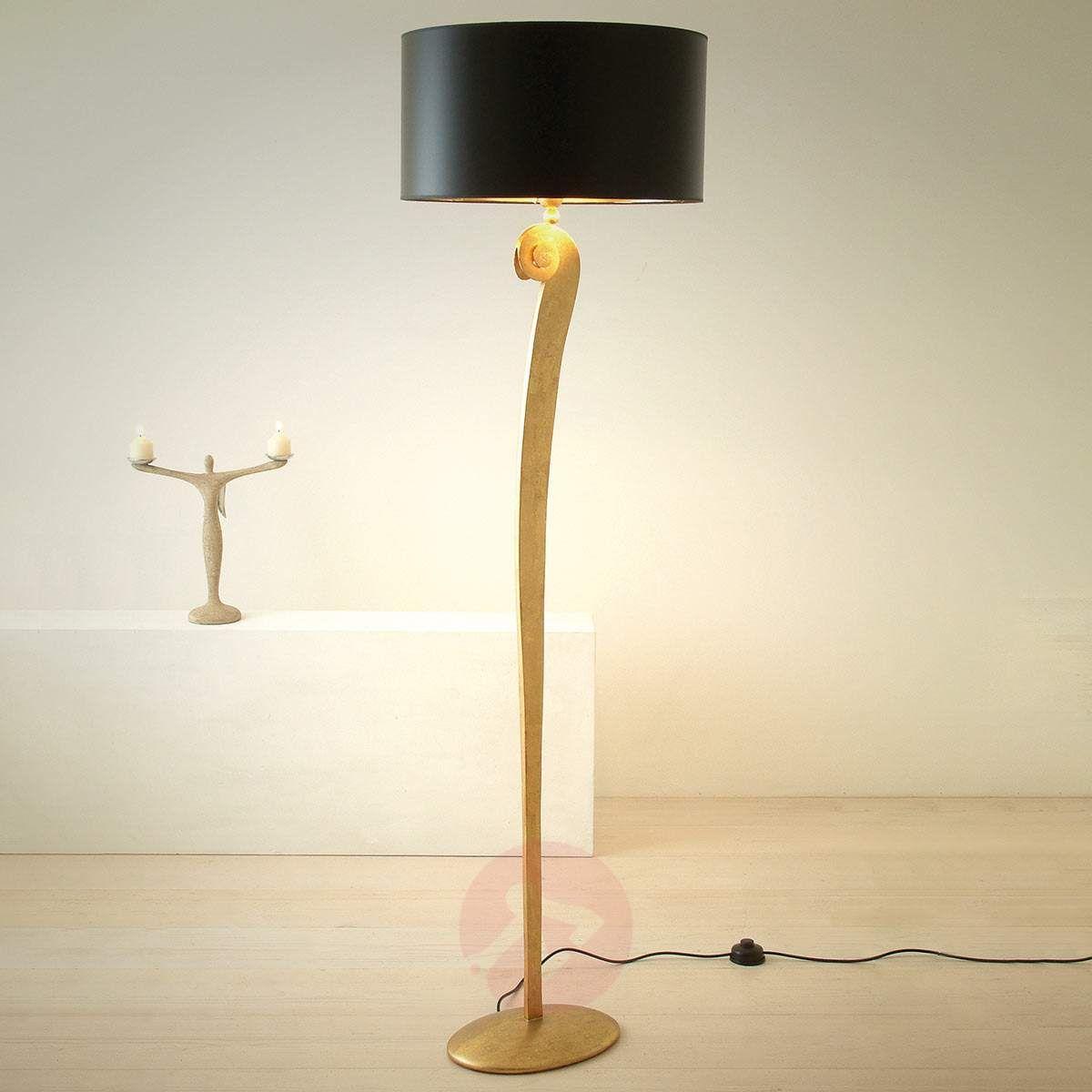 lampy stojace do salonu stylowe