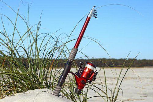 8 Ft 5 In Telescoping Fiberglass Fishing Rod Amp Reel Combo 2 7 M By Gfusa Gone Fishing Usa Telescoping Fibergl Rod And Reel Fishing Rod Best Fishing Rods