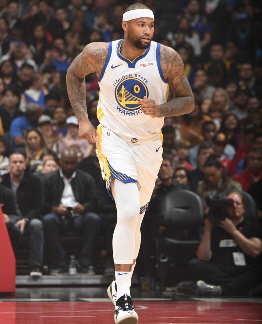 Los Angeles California 1 18 19 Demarcus Cousins Scored 14 Points In His Warriors Debut A 112 94 Victory Over The L Best Nba Jerseys Nba Fashion Nba Store
