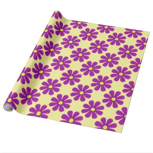 Spring pink flowers for all occasions wrapping paper