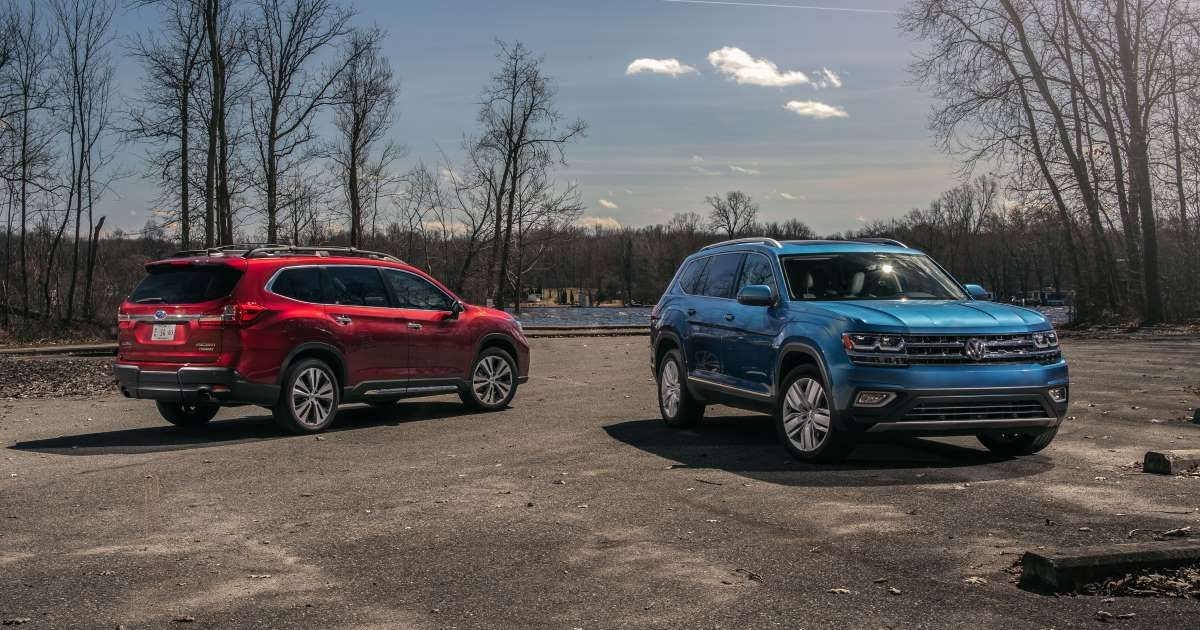 The 2019 Subaru Ascent Takes On the 2019 Volkswagen Atlas
