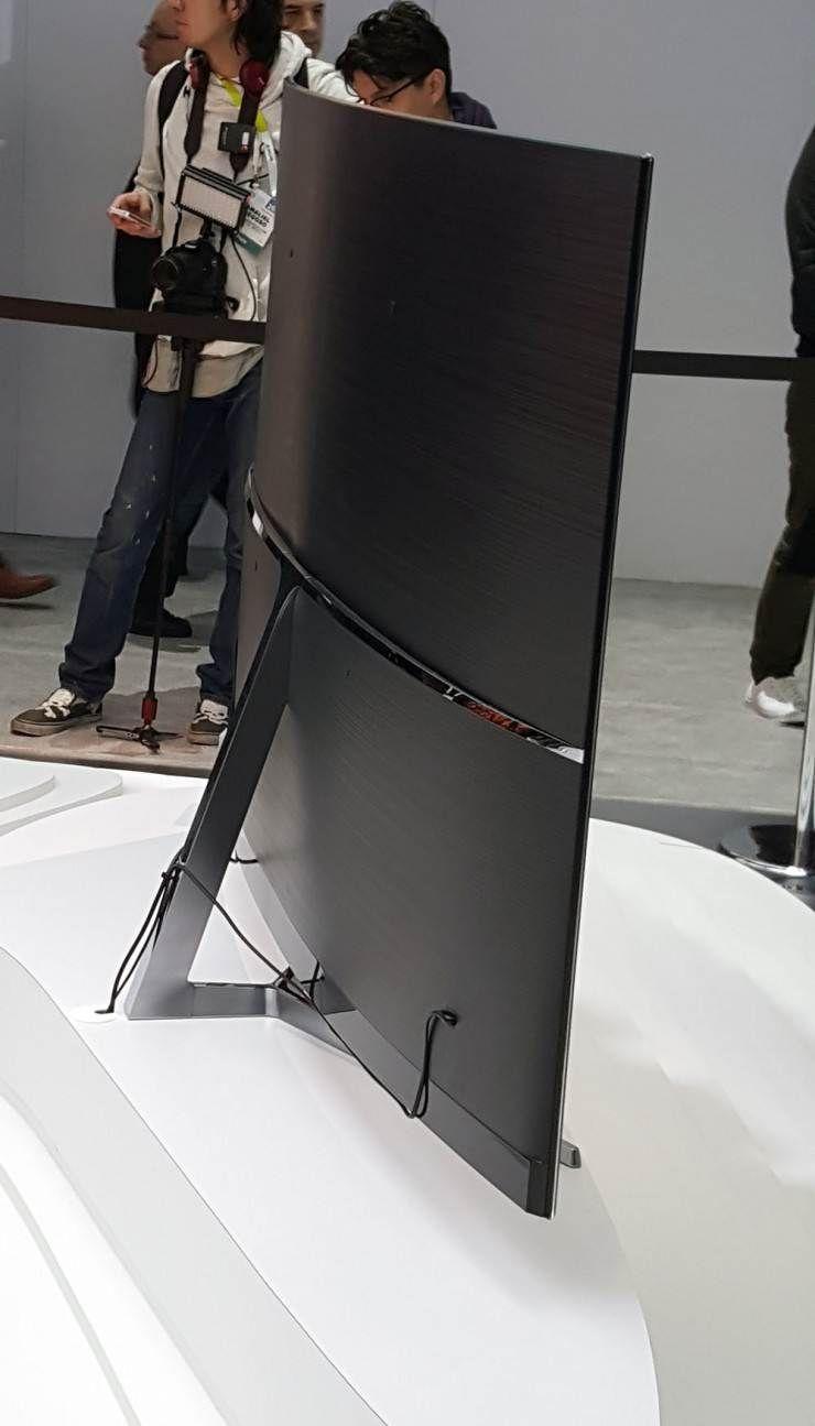 samsung suhd 4k curved smart tv ks9000 back view gadgets shiksha pinterest smart tv. Black Bedroom Furniture Sets. Home Design Ideas