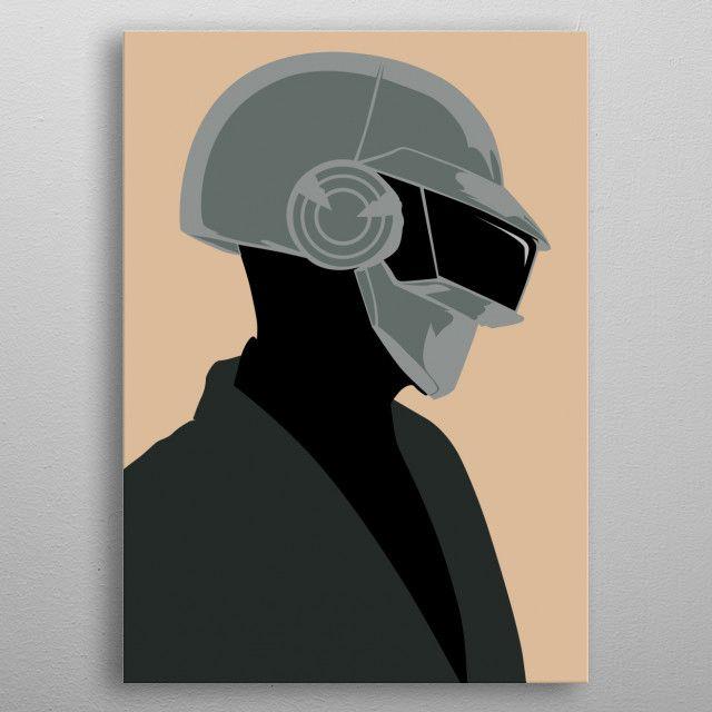 robot 02 by Al Spano | metal posters - Displate | Displate thumbnail
