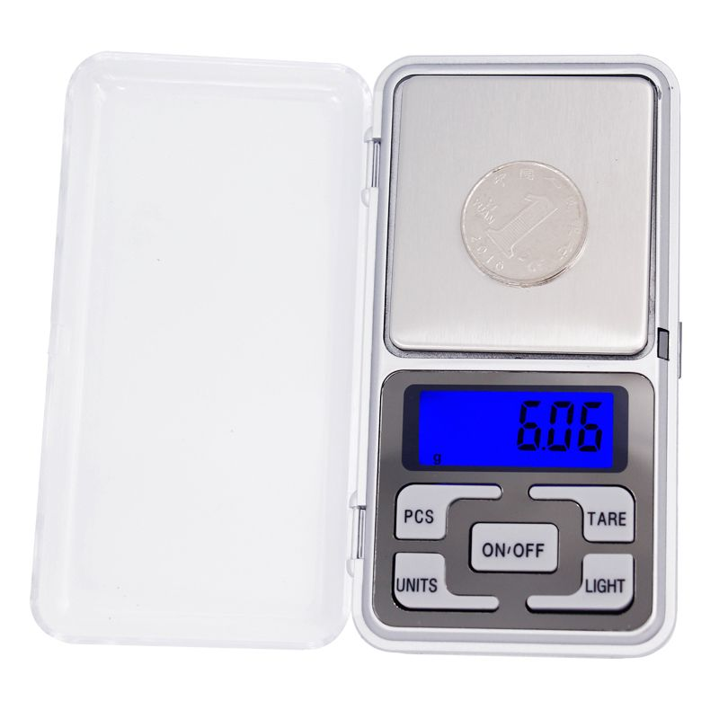Electronic Pocket Food Scale Portable LCD Bijoux 500g//0.01g numérique Weigh Scale