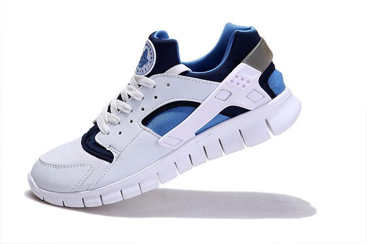 Hot Sale Nike Huarache Free 2012 Runs White Royal Navy Factory, discount Nike  Free Shoes, Womens Nike Free Shoes, sale Nike Free new Nike Free ...
