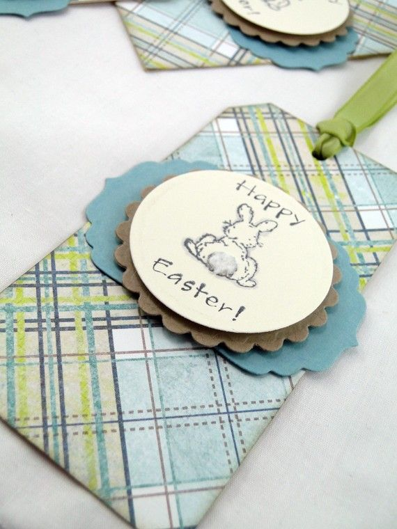 I can do this easter gift tags easter bunny in blue and green by create your own custom easter holiday gift tag with your words and greetings make easter holiday a happy holiday with these easter gift tag ideas negle Choice Image