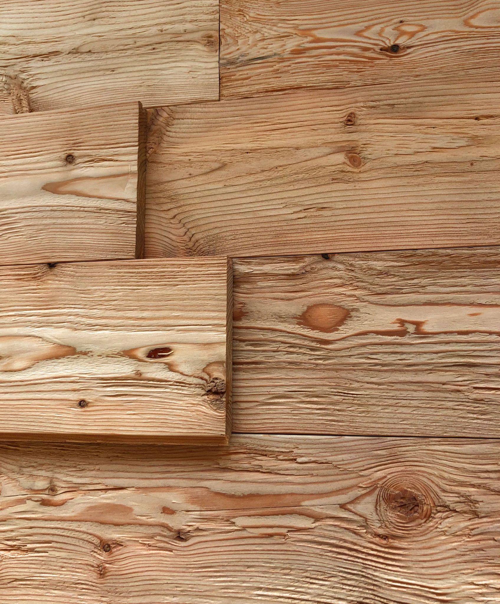 Fichte Natur Vintage Holz Wandverkleidung Altholz Wandverkleidung Vintage Holz