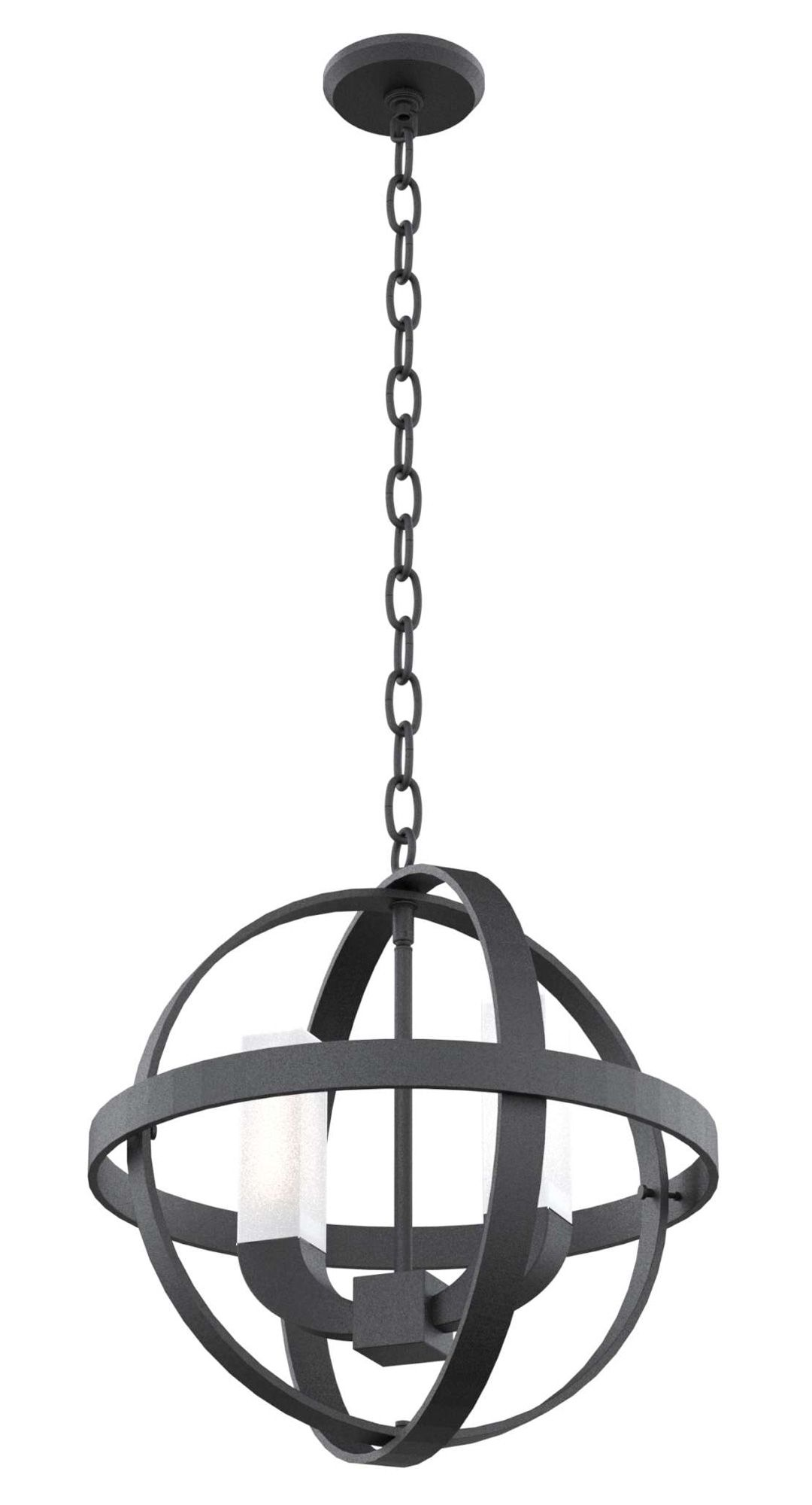 Jupiter outdoor pendant features opal glass tubes housing the light with a hammered black finish 20 watt 120 volt jcd g9 halogen bulbs are included
