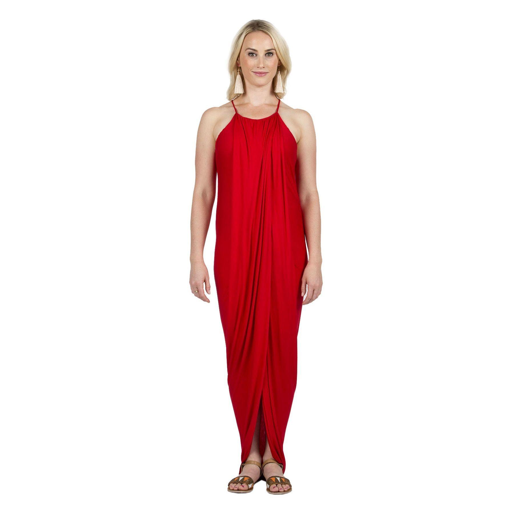 f79abf2975c Hadari Xehar Women s Sexy Flowy Maxi Dress