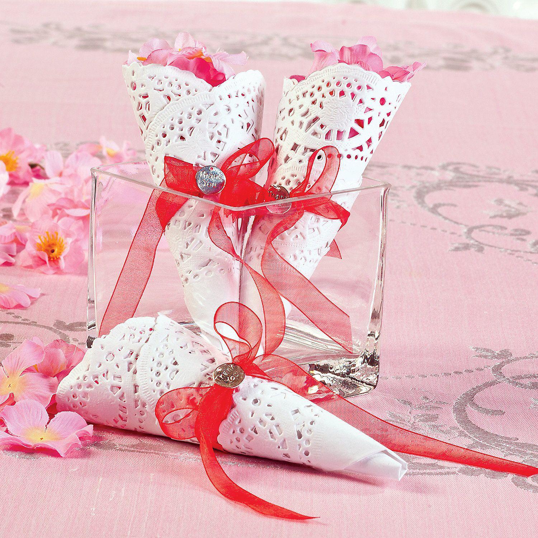 Petal Toss Cones - OrientalTrading.com | wedding | Pinterest ...