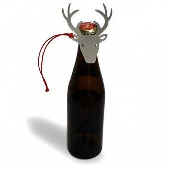 #oktoberfest #design3000 #munich #bayern #bavaria #bayrisch Flaschenöffner Deer Up in Form eines Hirsch-Kopfes.