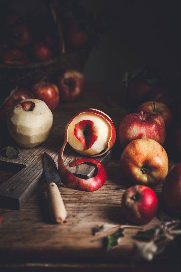 Apple Pie + Pecans & Bourbon Caramel - The Kitchen
