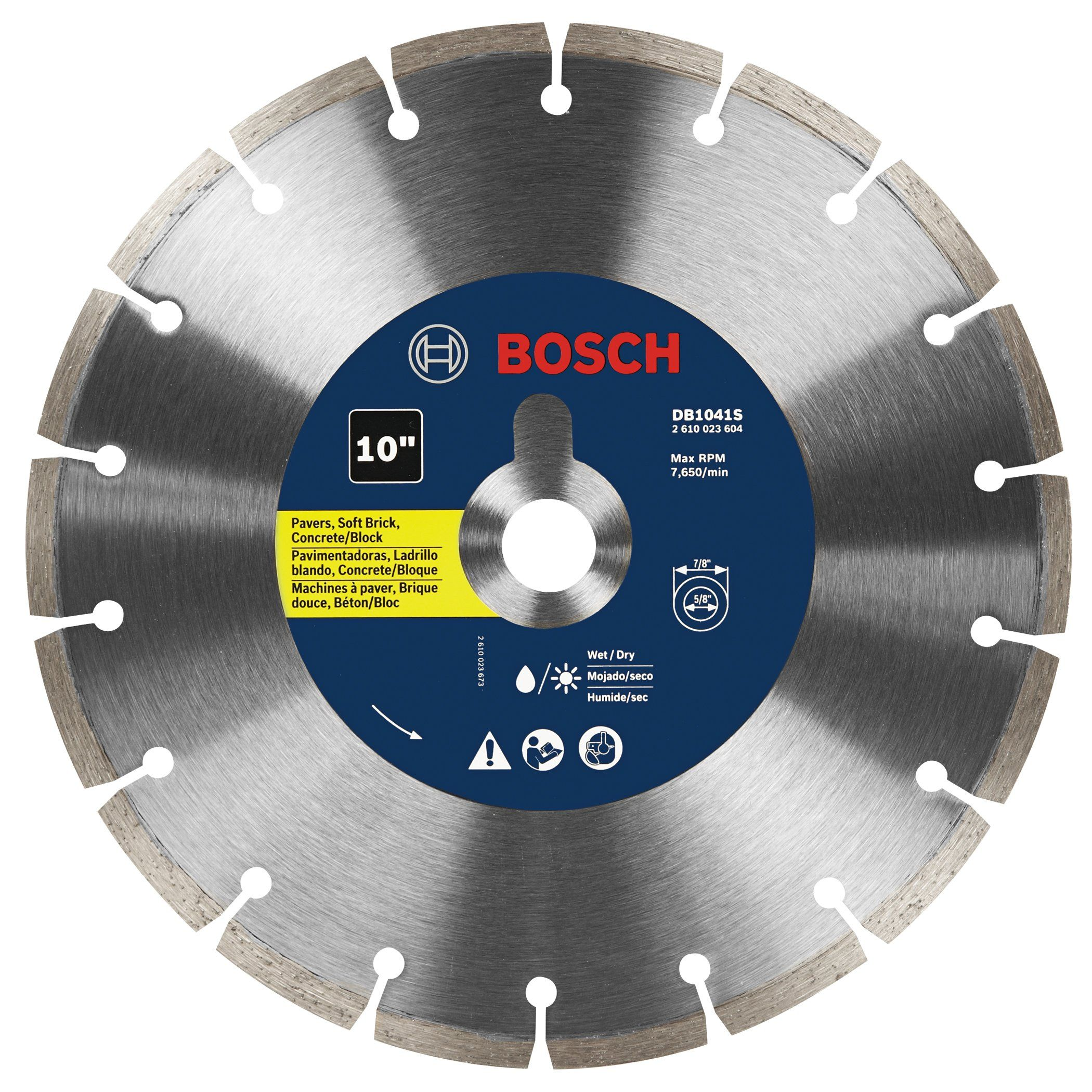 Bosch Db1041s 10inch Segmented Rim Diamond Blade You Can Get Extra Information At The Image Web Link Diamond Blades Household Gadgets 10 Things
